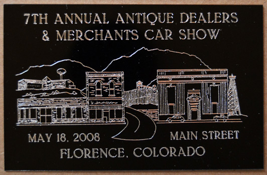 7th Annual Dash Plaque
