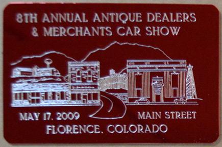 8th Annual Dash Plaque